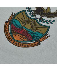 Yeezy - Blue Uni-sex T-shirt for Men - Lyst