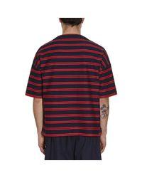 Jil Sander - Blue Crewneck T-shirt for Men - Lyst