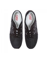 Asics - Black Gel-lyte Iii 'japanese Denim Pack' Sneakers for Men - Lyst