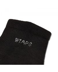 WTAPS - Black Skivvies Sox for Men - Lyst