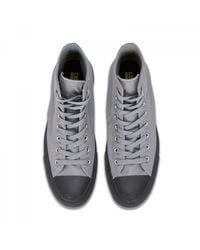 Converse - Gray Chuck Taylor All Star Hi Canvas Sneakers for Men - Lyst