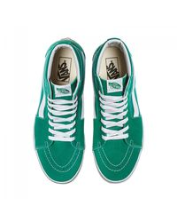 Vans - Green Sk8 Hi Sneakers for Men - Lyst
