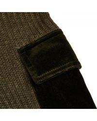Off-White c/o Virgil Abloh - Green Military Sweater for Men - Lyst