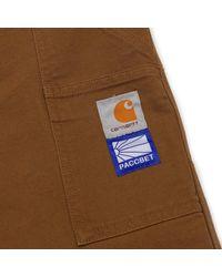 Carhartt WIP - Brown Paccbet Double Knee Pants for Men - Lyst