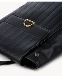 Sole Society - Black Zilo Vegan Quilted Backpack - Lyst