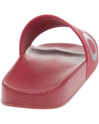 HUGO - Red Timeout Sandals - Lyst