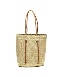 Soludos - Multicolor Exclusive! Merida Woven Beach Tote With Adjustable Straps - Lyst