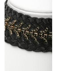 Tai - Black Ettika Gemstone Del Braided Choker Necklace - Lyst