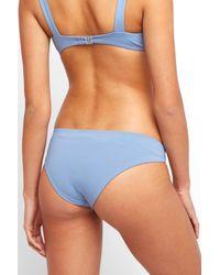 South Moon Under - Bella Full Infinity Blue Bikini Bottom - Lyst