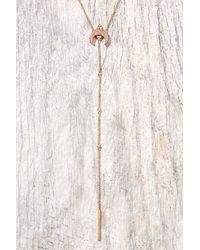 Elizabeth Stone - Multicolor Titania Druzy Y Necklace - Lyst