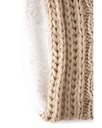 South Moon Under - Natural Cable Ring With Berber Lining - Lyst