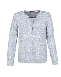 S.oliver - Litobade Women's Blouse In White - Lyst