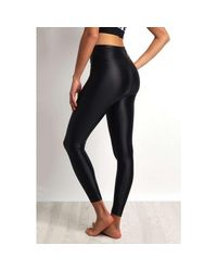 Koral - Lustrous High Rise Legging Black - Xs Black Women's Tights In Black - Lyst