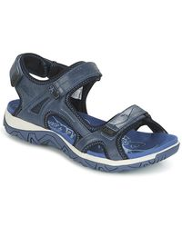 Allrounder By Mephisto - Larisa Women's Sandals In Blue - Lyst