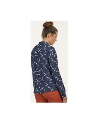 Mat De Misaine - Cannes Women's Shirt In Blue - Lyst