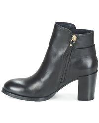 Tommy Hilfiger - Penelope 8a Women's Low Ankle Boots In Black - Lyst