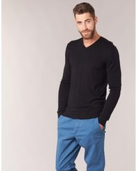 Benetton - Madra Men's Sweater In Black for Men - Lyst
