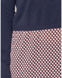 Casual Attitude - Ihainou Women's Sweater In Blue - Lyst