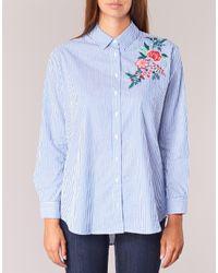Betty London - Hariem Women's Shirt In Blue - Lyst