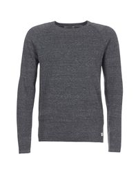 Jack & Jones - Gray Jorunion Sweater for Men - Lyst