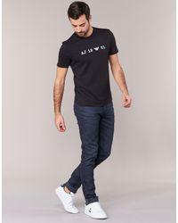 Armani Jeans - Parakoli Men's T Shirt In Black for Men - Lyst