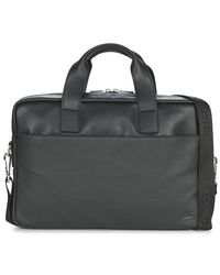 70e7ff35ef Lacoste Rafael Men's Briefcase In Black in Black for Men - Lyst