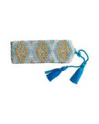 Amadoria | Silver, Turquoise And Gold Bracelet Java Women's Bracelet In Blue | Lyst