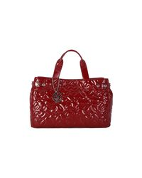 Armani Jeans - Red Shopping Bordeaux Women's Shopper Bag In Other - Lyst