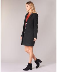 Vero Moda - Black Vmcindy Coat - Lyst