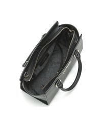 MICHAEL Michael Kors - Michael Kors Selma Medium Handbag In Black Saffiano Leather Women's Handbags In Black - Lyst