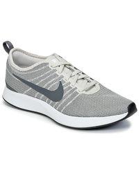 Nike - Gray Dualtone Racer W Women's Shoes (trainers) In Grey - Lyst