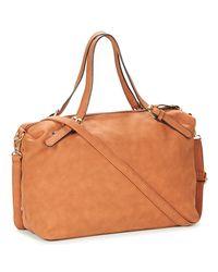 Moony Mood - Heritte Women's Shoulder Bag In Brown - Lyst