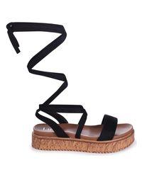 Linzi - Trudy Women's Sandals In Black - Lyst