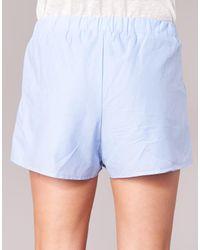 Betty London - Goldie Women's Shorts In Blue - Lyst