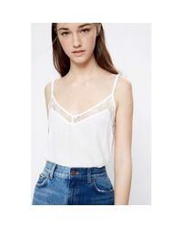Pepe Jeans | Pl302097 Canotta Women Bianco Women's Vest Top In White | Lyst