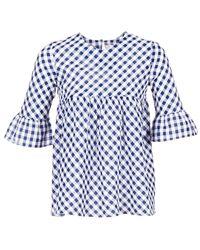 Moony Mood - Hepo Women's Blouse In Blue - Lyst