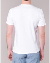Napapijri - Vintage Men's T Shirt In White for Men - Lyst