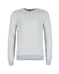 Benetton | Gray Rinino Men's Sweater In Grey for Men | Lyst