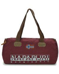 Napapijri - Bering Small Women's Travel Bag In Red - Lyst