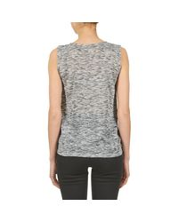 Best Mountain - Gray Galston Women's Vest Top In Grey - Lyst
