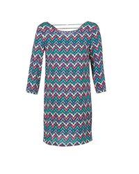 Best Mountain - Blue Rosemari Women's Dress In Multicolour - Lyst