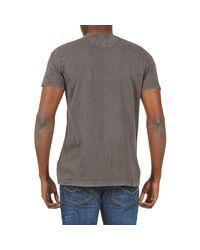 Napapijri - Gray Slood Crew Men's T Shirt In Grey for Men - Lyst