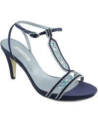Angel Alarcon - Ang Alarcon Oporto Women's Sandals In Blue - Lyst