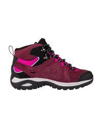 Yves Salomon - Ellipse 2 Mid Ltr Gtx W Women's Walking Boots In Black - Lyst