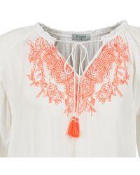 Betty London - Ermila Women's Blouse In White - Lyst