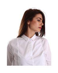 Pepe Jeans - Pl301831 Shirt Women White Women's Shirt In White - Lyst