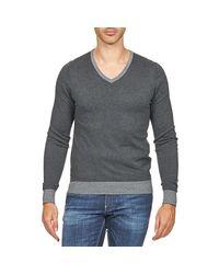 Gas - Gray Rassel Men's Sweater In Grey for Men - Lyst