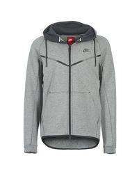 f62982a1c3644 Nike Tech Fleece Windrunner Hoodie Men s Jacket In Grey in Gray for ...