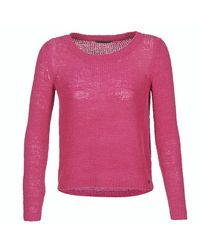 ONLY - Geena Women's Sweater In Pink - Lyst