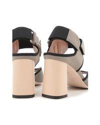 Marni - Gray Samsu07c08tcr8600n26 Women's Sandals In Grey - Lyst